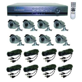 Harga SILICON DVR KIT VG-H7408QK / Paket CCTV 8 Channel