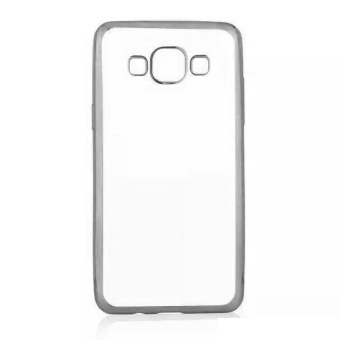 Case Softcase Samsung Galaxy A3 (300) List Chrome - Silver