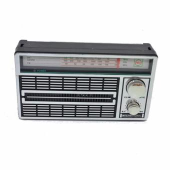 Harga RADIO PORTABLE INTERNATIONAL JADUL 3 BAND FM - AM -SW AC/DC 4250 ANTIK
