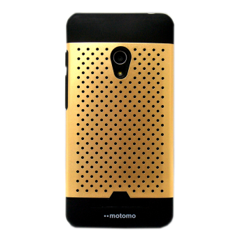 Harga Motomo Hardcase Net for Zenphone C - Gold