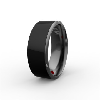 Harga JAKCOM R3 NFC Technology Magic Smart Ring Black for Android IOS Windows Phone 8# Size - intl