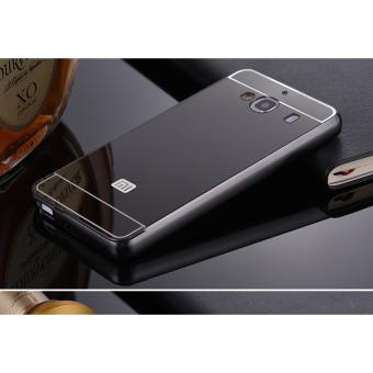 Case For Xiaomi Redmi 2 / 2s / 2 Prime Bumper Slide Mirror - Black