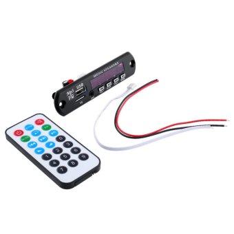 Aukey mobil MP3 WMA papan pemutar audio radio Modul USB nirkabel disebut TF + Controller yang