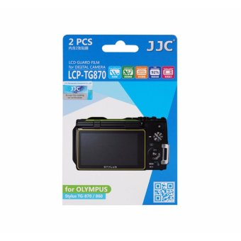 Harga JJC LCD Guard Film Camera Screen Display Protector For Olympus Stylus TG-870/860 - intl