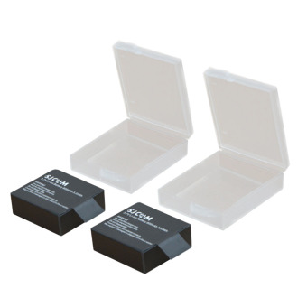 Waterproof Camera Battery Case Storage Box Cover 1 PCS for Xiaomi Yi / GoPro Hero / SJCAM - Transparent.