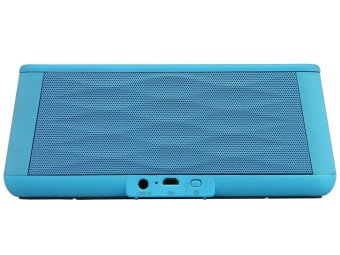 Harga Doss DS 1155 Bluetooth Speaker With Motion Sensor And Micro SD Slot - Biru
