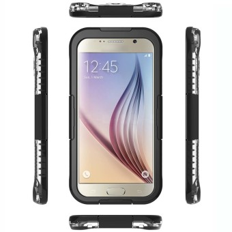 Harga Waterproof Case for Samsung Galaxy S6 / S6 Edge (Black)