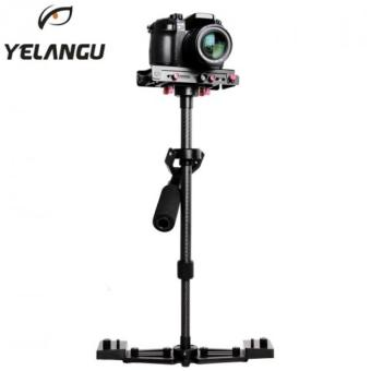 Harga YELANGU YLG0107K 40-67cm Aviation Aluminum + Carbon Fiber Professional Handheld Stabilizer for DSLR Camera DV - INTL
