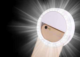 Harga leegoal Selfie Ring Light For IPhone 6 Plus/6s/6/5s/5/4s/4, Samsung Galaxy S6 Edge/S6/S5/S4/S3, Galaxy Note 5/4/3/2
