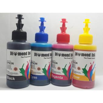 Harga Epson Isi Ulang Diamond Ink 100ml @4 warna
