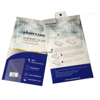 Harga Universal Norton Tempered Glas For I-Phone 4 - Depan+Belakang