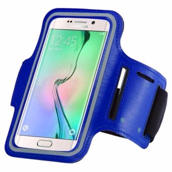 Harga Armband for Samsung Galaxy S7 Edge - Biru