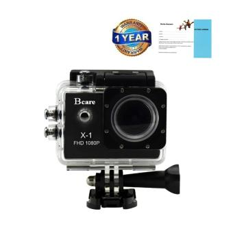 Harga Bcare B-Cam X-1 - Action Camera 12 MP full HD 1080P - Hitam