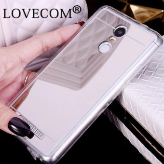 Harga Original Ultra Thin Case Mirror for Xiaomi Redmi Note 3 - Silver