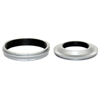 Harga JJC LN-RC49s Lens Hood & UV Filter Adapter Ring for Fujifilm Finepix X100 X100S - intl