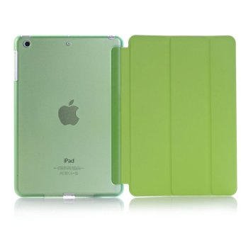 Harga PU Leather Case Stand for Apple iPad air2 (Green)