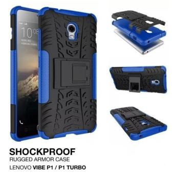 Harga Casing Lenovo Vibe P1 Turbo Rugged Armor w/kick stand hard case cover