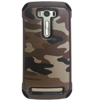 Harga Case Army Protection for Asus Zenfone Laser ZE500KL - Coklat Army