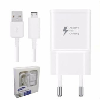 Harga Samsung Fast Charger Travel Charger 15W For Samsung Galaxy S6/S7 Note 4/5 Original