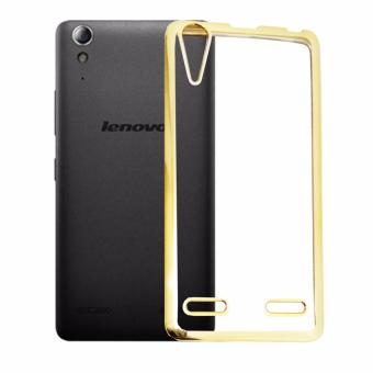 Softcase Lenovo A6000 List Chrome Hitam Transparant Tempered Glass Source Harga Softcase Silicon .