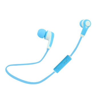 Harga Headset Bluetooth Stereo Headphone nirkabel kebisingan mengisolasi alat pendengar (biru)- International