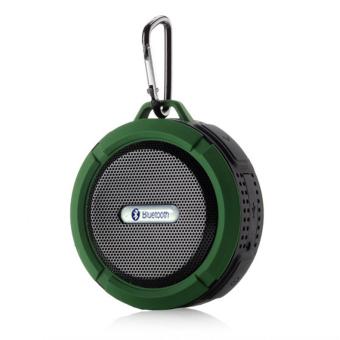 YBC Wireless Bluetooth Speakers Waterproof Dustproof Mini Portable Stereo Speaker Subwoofer Green
