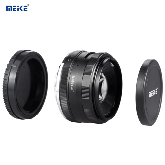 Harga MEIKE MK-E-35-1.7 35mm F1.7 Large Aperture Manual Focus APS-C Camera Lens for Sony E Mount NEX3 NEX5 NEX6 NEX7 A5000 A5100 A6000 A6100 A6300 ILDC Mirrorless Camera - intl