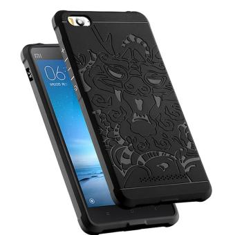Harga Original Dragon Shockproof Hybrid Slim Case Series for Xiaomi mi4i / mi4c - Hitam