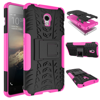 Harga Moonmini Rugged Shockproof Case for Lenovo Vibe P1 (Hot Pink)