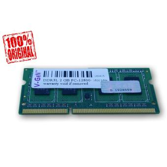 Harga Vgen Memory Ram Sodimm 2GB DDR3L PC12800 - for Laptop Low Voltage V-Gen