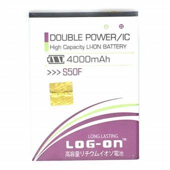 Baterai Battery Log On Double Power Advan S50F - 4000mAh
