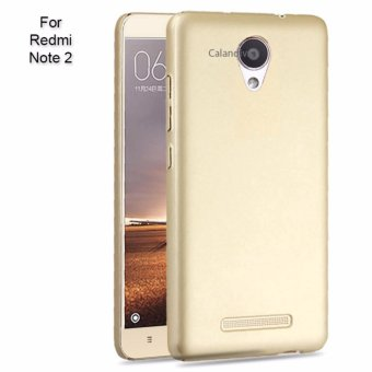Harga Calandiva 360 Degree Protection Case for Xiaomi Redmi Note 2 / Redmi Note 2 Prime / Redmi Note 2 Pro (Gold)