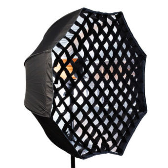 95cm Flash Softbox Umbrella Brolly Reflector With Grid for Studio Photo Flash