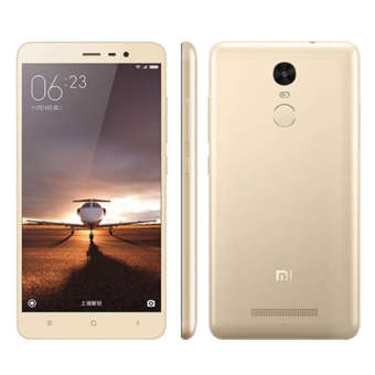 Harga Xiaomi Redmi Note 3 4G LTE - 3 GB - 32 GB - Gold