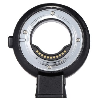 Harga Andoer EF-MFT Auto Focus Electronic Lens Mount Adapter Ring for Canon EOS EF/EF-S Lens to M4/3 Camera Such As for Olympus Panasonic M4/3 Camera