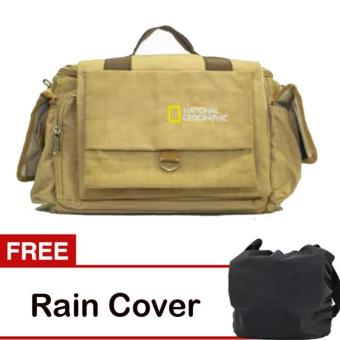 Harga Third Party Tas Kamera National Geographic - Krem + Free Rain Cover