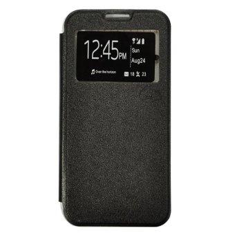 Smile Flip Cover Case Infinix Hot Note X551 - Hitam