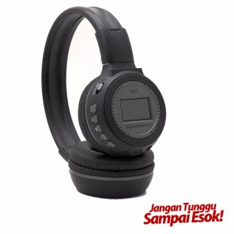 Harga Zealot N85 Headphone with FM Radio TF Slot & Mic - Hitam