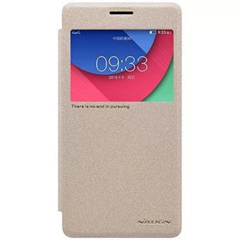 Harga Nillkin Sparkle Leather Case Lenovo Vibe P1 - Gold
