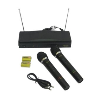Harga Homic Mic Double Wireless HM-306