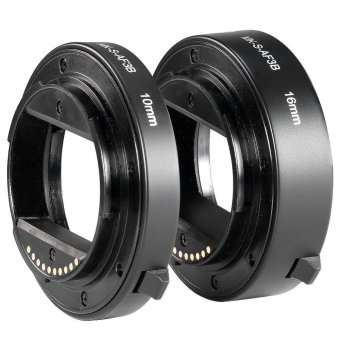 Harga Meike S-AF3-B Extension Tube for Sony E-Mount NEX-7 NEX-6 NEX-5R NEX-3N NEX-F3 NEX-5N NEX-5C NEX-C3