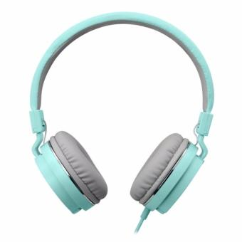 Harga Gorsun GS779 Foldable Wired Stereo Headset Green