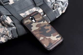 Harga Case Army Protection for Xiaomi Mi 4 - Coklat Army
