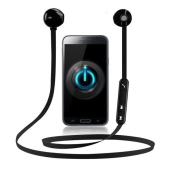 Harga Magnet Fineblue Mate7 Mini Bluetooth Wireless Headset Stereo Headphone BK - intl