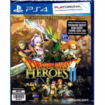 Harga Sony PlayStation PS4 Dragon Quest Heroes 2 - Explorers Edition (R3)