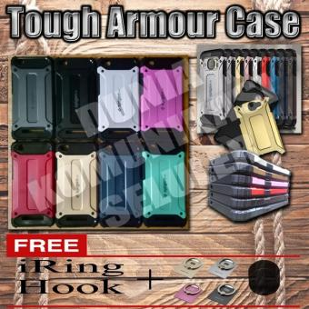 Harga Elegant Case Iron Tough Armour Xiaomi Redmi 4A - Merah + Gratis Iring + Hook