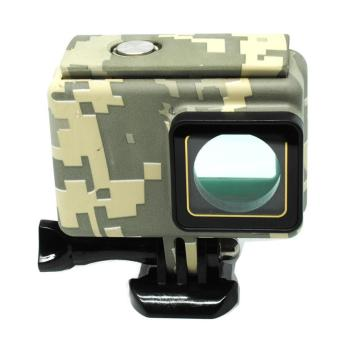 Underwater Waterproof Case Camouflage Touch 45m for Xiaomi Yi 2 4K