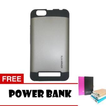 ... Harga Case Lenovo Vibe C Slim Armor Silver Power Bank