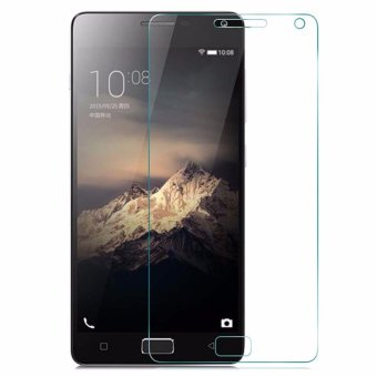 Harga Vn Tempered Glass 9H for Lenovo Vibe P1 Turbo 2D Round Curved Edge Screen Protector Film 0.33mm - Bening
