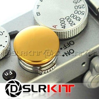 Harga Soft Release Gold Metal Button for Leica Contax Fujifilm X100 size:L - intl